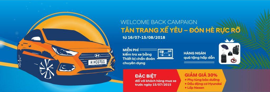 Khuyến mãi dịch vụ hè tại Hyundai Gia Lai