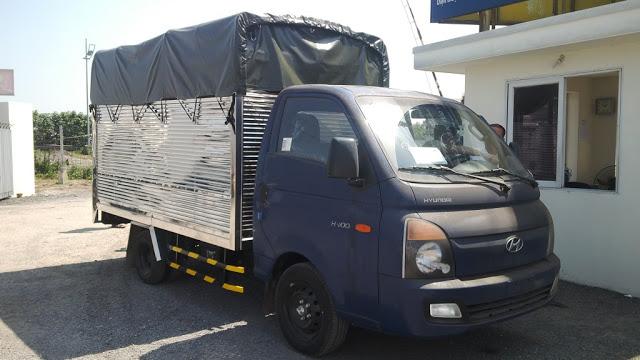 xe tài 1,5 tấn thùng bạt