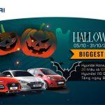 Happy Halloween – khuyến mãi ngập tràn dành cho Hyundai Kona, Elantra, I10 cùng Hyundai Gia Lai